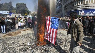 مظاهرات مناهضة للولايات المتحدة في إيران/ أرشيف
