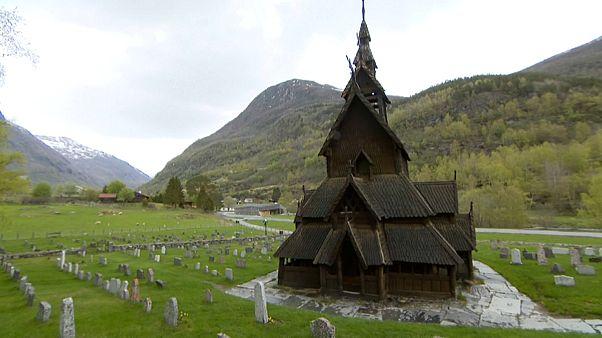 Se conservan 28 iglesias medievales de madera en Noruega