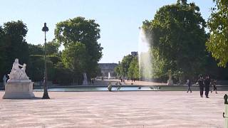 Le jardin des Tuileries a rouvert à Paris