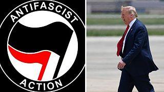 ترامپ گروههای منتسب به آنتیفا را در فهرست سازمان های تروریستی قرار میدهد
