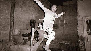 Suriye/Kamışlı'da bir mülteci çocuk.