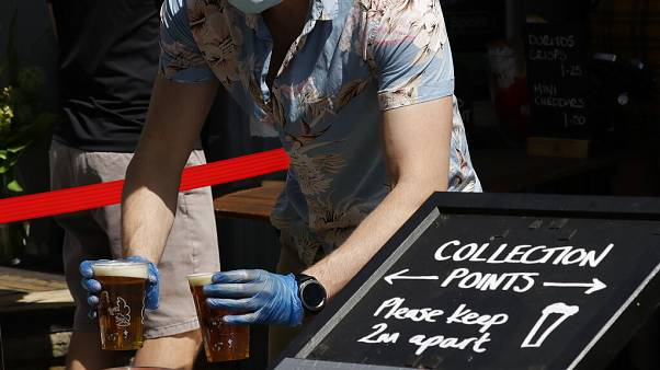 Csapolt sör elvitelre, Egyesült Királyság