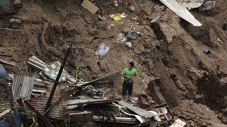 Az Amanda ciklon letarolta El Salvadort
