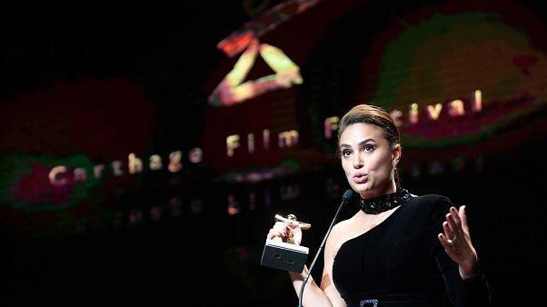 الممثلة التونسية هند صبري في دورة سابقة من مهرجان قرطاج