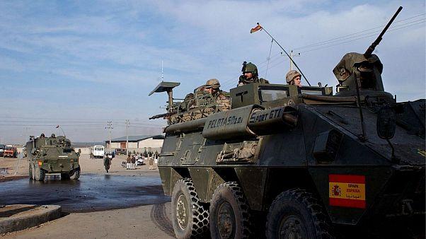 سربازان اسپانیایی در افغانستان