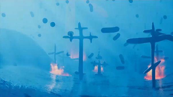 "A¨P - Music video clip – ""1312"" Pussy Riot feat. Parcas, Dillom, Muerejoven"