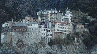 Μοναστήρι στο Άγιο Όρος