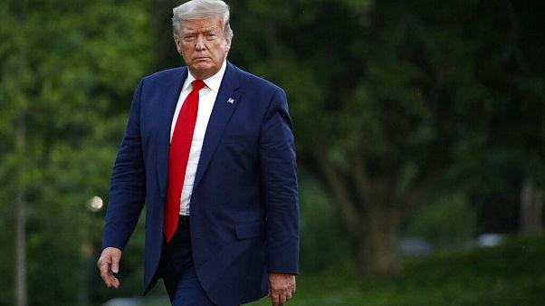 """George Floyd : les émeutes continuent, Donald Trump fustige les """"terroristes"""""""