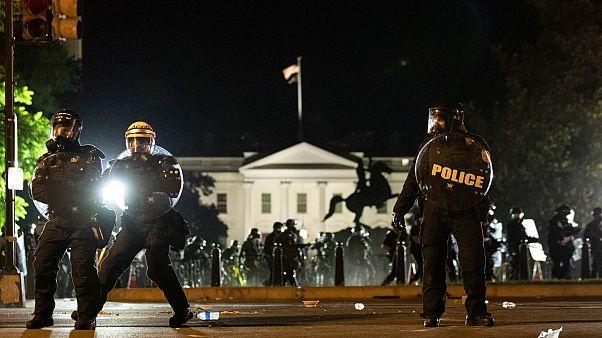ABD'nin başkent Washington'da sokağa çıkma yasağı
