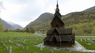 کلیسای بورگورند نروژ