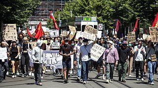"Europa se suma al movimiento ""Black Lives Matter"" tras la muerte de Floyd con varias marchas"