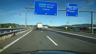 Na estrada, a caminho de França