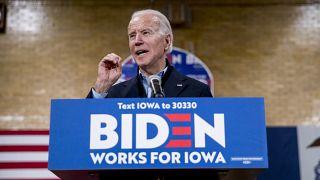جو بايدن المرشح المحتمل للحزب الديمقراطي للانتخابات الرئاسية