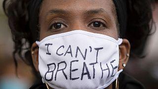 «نمیتوانم نفس بکشم»، یکی از شرکتکنندکان در راهپیمایی علیه نژادپرستی در کانادا