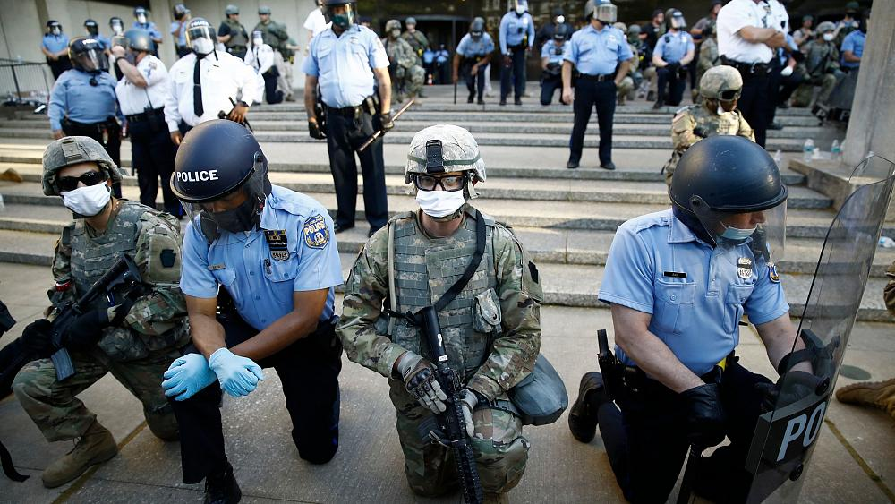 George Floyd killing: Protests continue to rage as autopsy finds he died of...