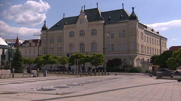 A lévai városháza épülete