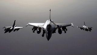 Fransa'nın Rafale savaş uçakları