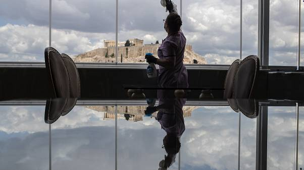 Cinemas ao ar livre voltam à ação na Grécia