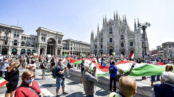 Italia: el presidente pide unidad, la ultraderecha se moviliza