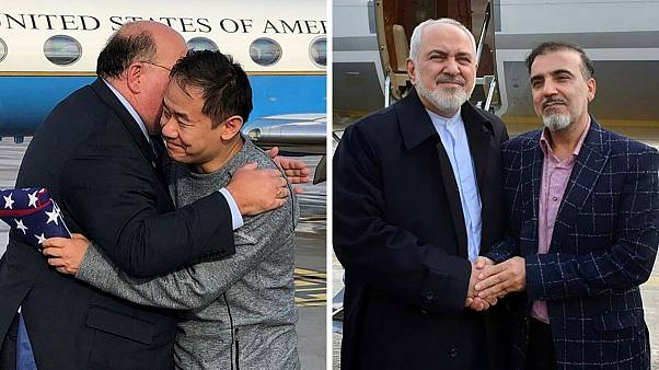 دو زندانی تبادل شده در ماههای گذشته بین ایران و آمریکا