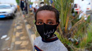 طفل يمني في صناء
