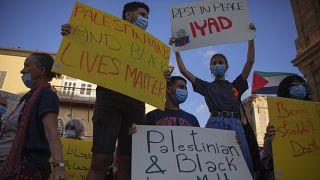 Акция протеста в Иерусалиме