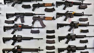 ABD'de bir silah mağazasından kare, arşiv