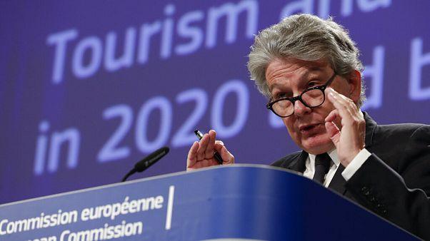 Ο Επίτροπος Εσωτερικής Αγοράς Τιερί Μπρετόν