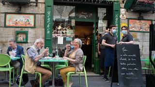 [Photos] Première journée de réouverture pour les bars et restaurants en France