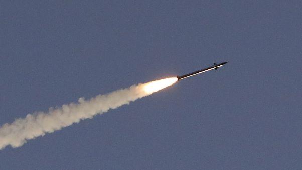 إطلاق صاروخ من نظام القبة الحديدية الإسرائيلي - 2019/05/05