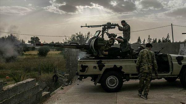 Libya'da UMH'ye bağlı birlikler