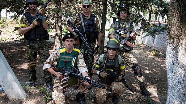 سربازان اوکراینی در دونباس