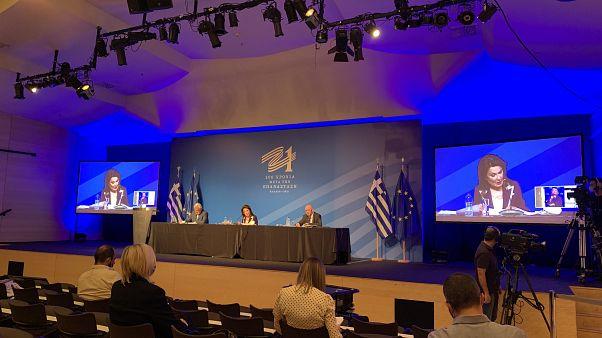 Η συνέντευξη Τύπου της Επιτροπής «Ελλάδα 2021»