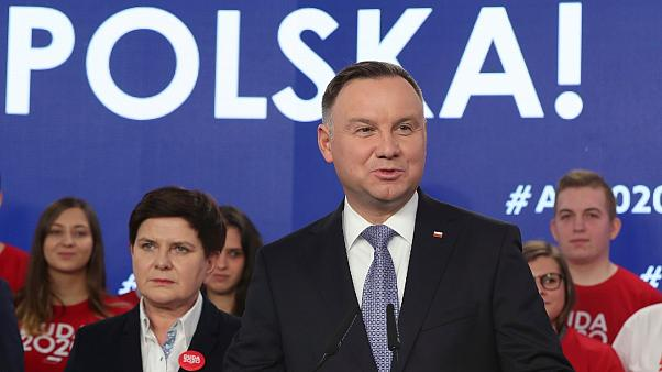 The polish president Duda