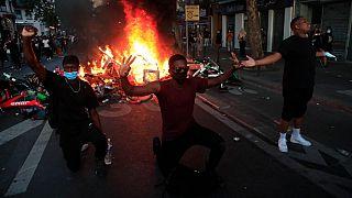 معترضان به خشونت های پلیس علیه سیاهان و اعراب در پاریس