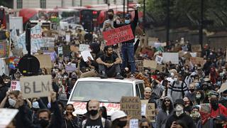 London/ Floyd protest