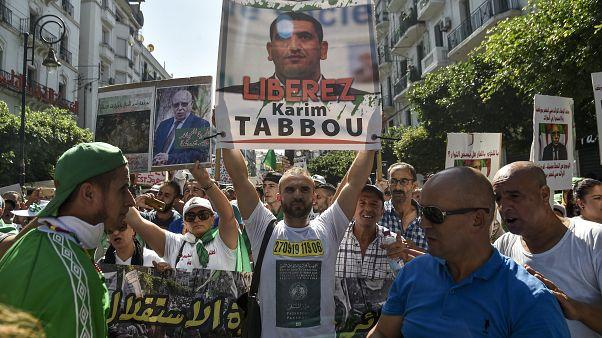المعارض السياسي الجزائري كريم طابو