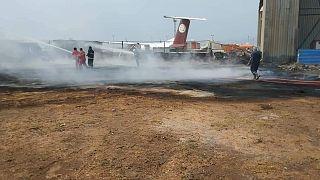 مطار طرابس في ليبيا