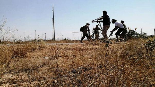 Libya'da ordusu Hafter'in kontrolündeki Trablus Havaalanı'nda kontrolü sağladı