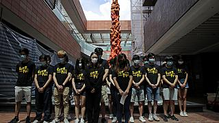 Φοιτητική διαμαρτυρία στο Χονγκ Κονγκ