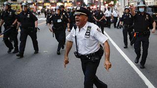 نیروهای پلیس در نیویورک