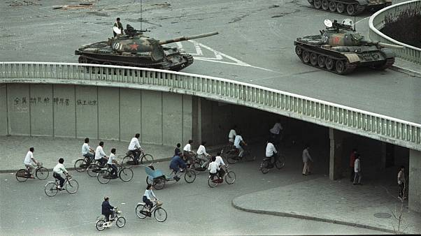 Tiananmen Square on June 4, 1989