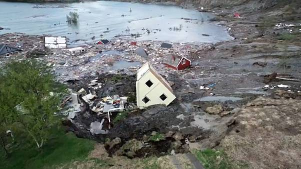 Νορβηγία: Μεγάλη ολίσθηση του εδάφους – Η γη «γλίστρησε» στη θάλασσα