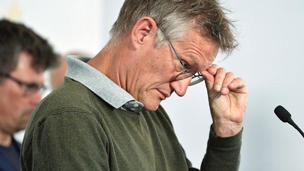 El epidemiólogo Anders Tegnell de la Agencia de Salud Pública de Suecia habla durante una conferencia de prensa sobre una actualización diaria de la situación del coronavirus