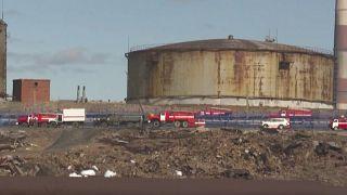 Tausende Tonnen Diesel sind ausgelaufen