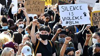 راهپیمایی ضد نژادپرستی در سوئد