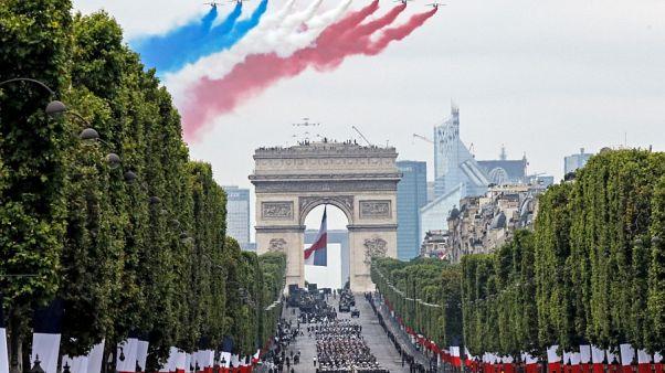 رژه نظامی چهارده ژوییه در فرانسه