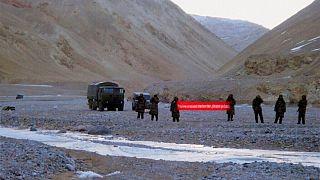 نظامیان چین در مرز هند