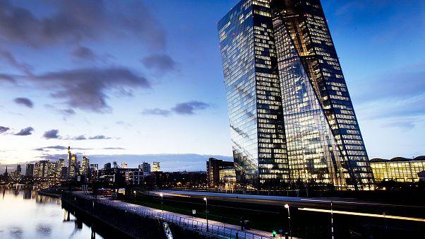 La Banque Centrale Européenne à Francfort-sur-le-Main.
