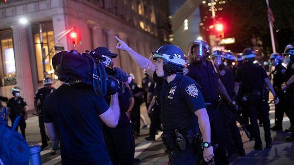 ABD'de basına yönelik polis şiddeti